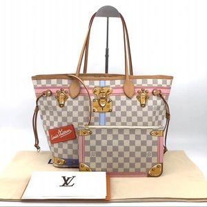 Authentic Louis Vuitton Summer Trunks Neverfull